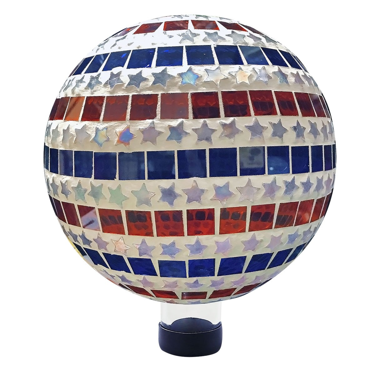 Alpine HGY434 Patriotic Stars and Stripes Gazing Globe Flag Pattern