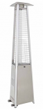 Tall Commercial Glass Tube Patio Heater - Stainless Steel