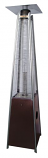 Glass Tube Patio Heater - Hammered Gold
