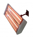 Electric Double Heating Wall Mount Infrared Heat Lamp