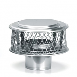 "HomeSaver 316 Alloy 9"" Guardian Cap - 3/4"" Mesh"