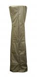 Triangle Glass Tube Heavy Duty Waterproof Cover - Silver