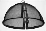 "52"" Welded HYBRID Steel Hinged Round Fire Pit Safety Screen"