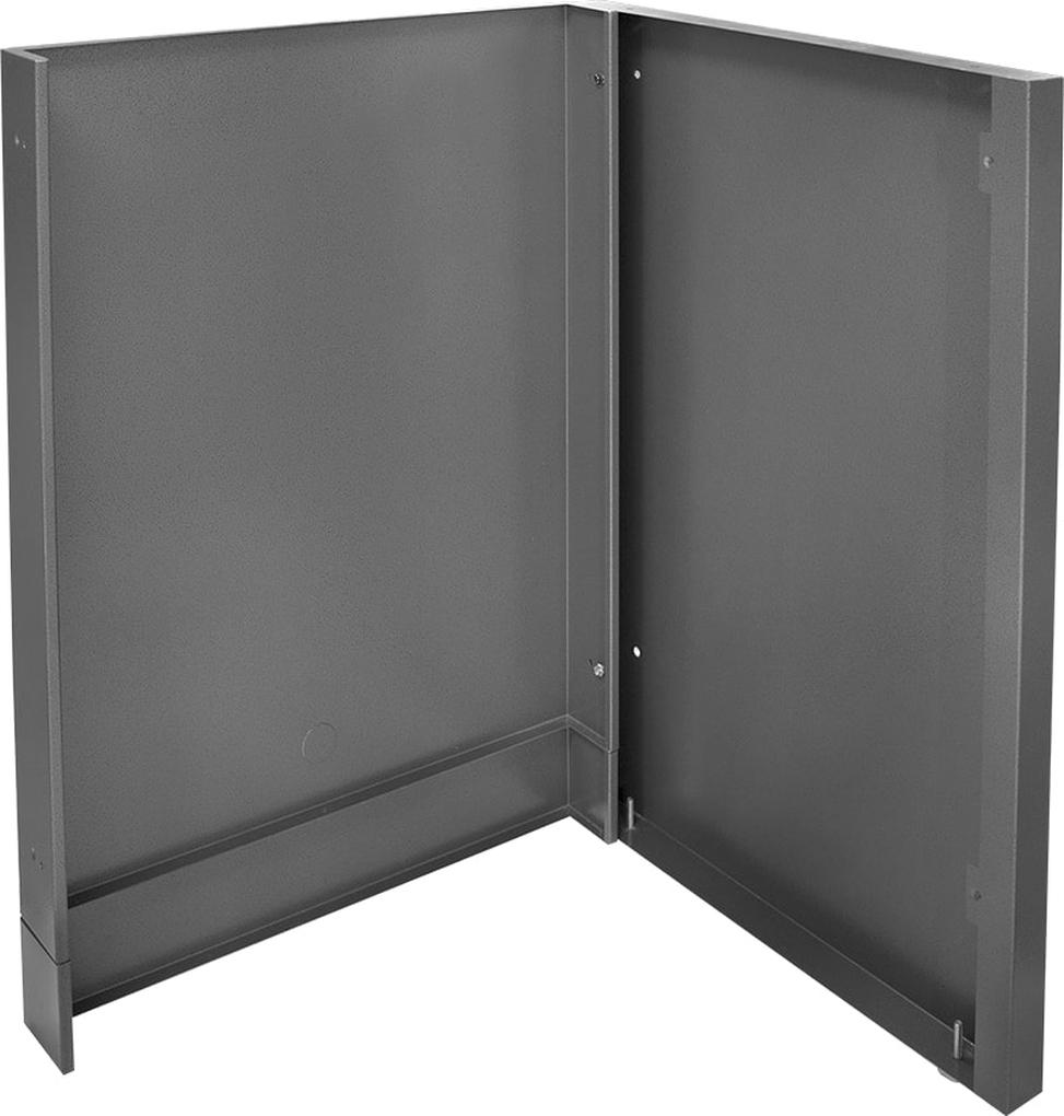 Napoleon Oasis Modular Component Gray Side and Back Enclosure Kit