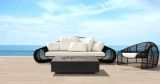 Infinity Fire Table in Charcoal - Natural Gas