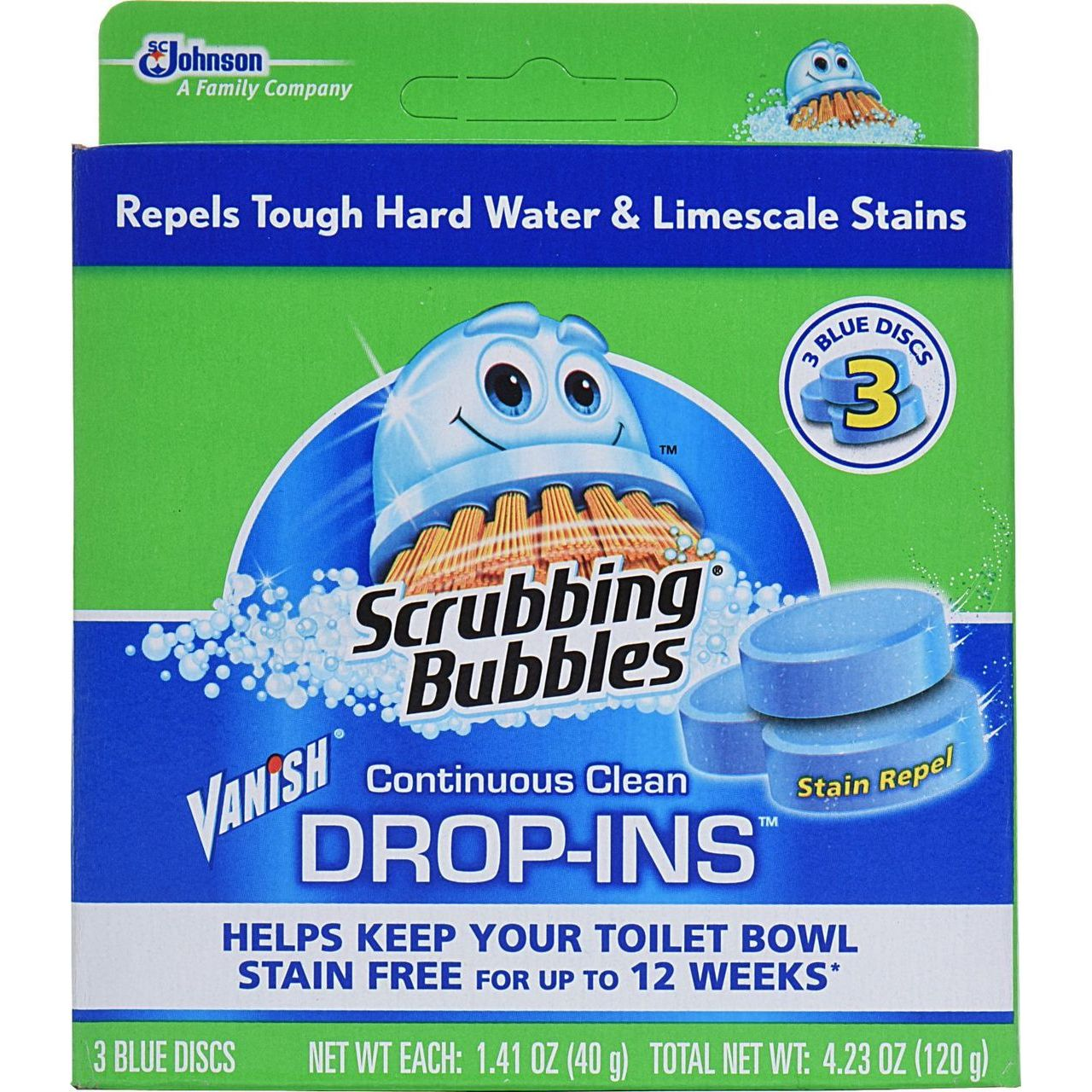 SC Johnson 3-Count Toilet Cleaner Drop Ins