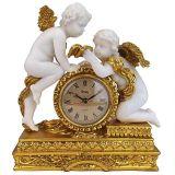 Design Toscano KY72570 Chateau Carbonne Cherub Mantel Clock