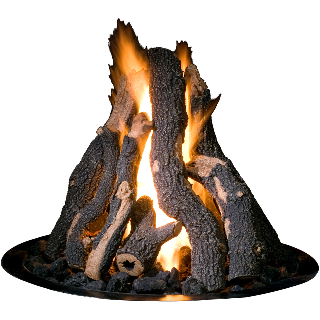 "Golden Blount Logs For 24"" Grand Fire Pit Pan"
