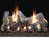 "30"" Sassafras Vent Free Gas Logs with Intermittent Pilot - NG"