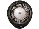 EcoJet 040103 Hurricane Wall Mount Misting Fan in Black