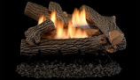 """Superior LVD24CH 24"""" Crescent Hill Vent Free Gas Log Set- LOGS ONLY"""