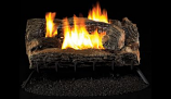 "Superior 27"" Multi-Sided, Vent Free MV Burner & Log Set-Liquid Propane"