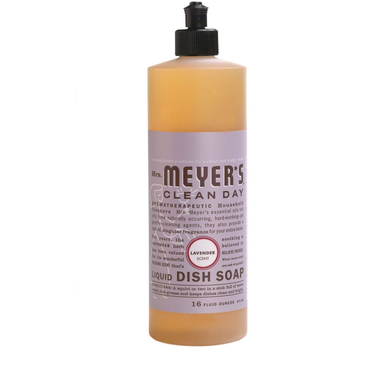 Caldrea 16 oz Lavander Clean Day Liquid Dish Soap