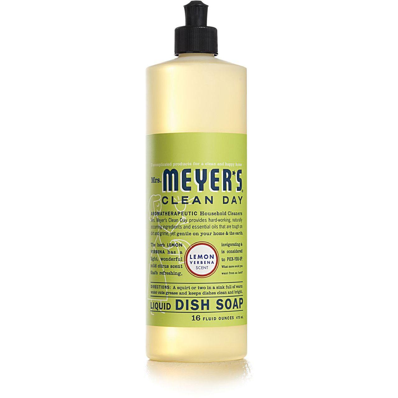 Caldrea 16 oz Lemon Verbena Clean Day Liquid Dish Soap