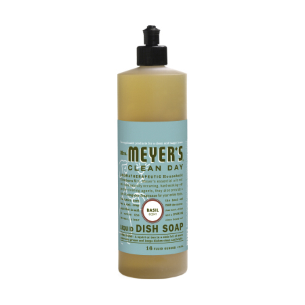 Caldrea 16 oz Basil Clean Day Liquid Dish Soap