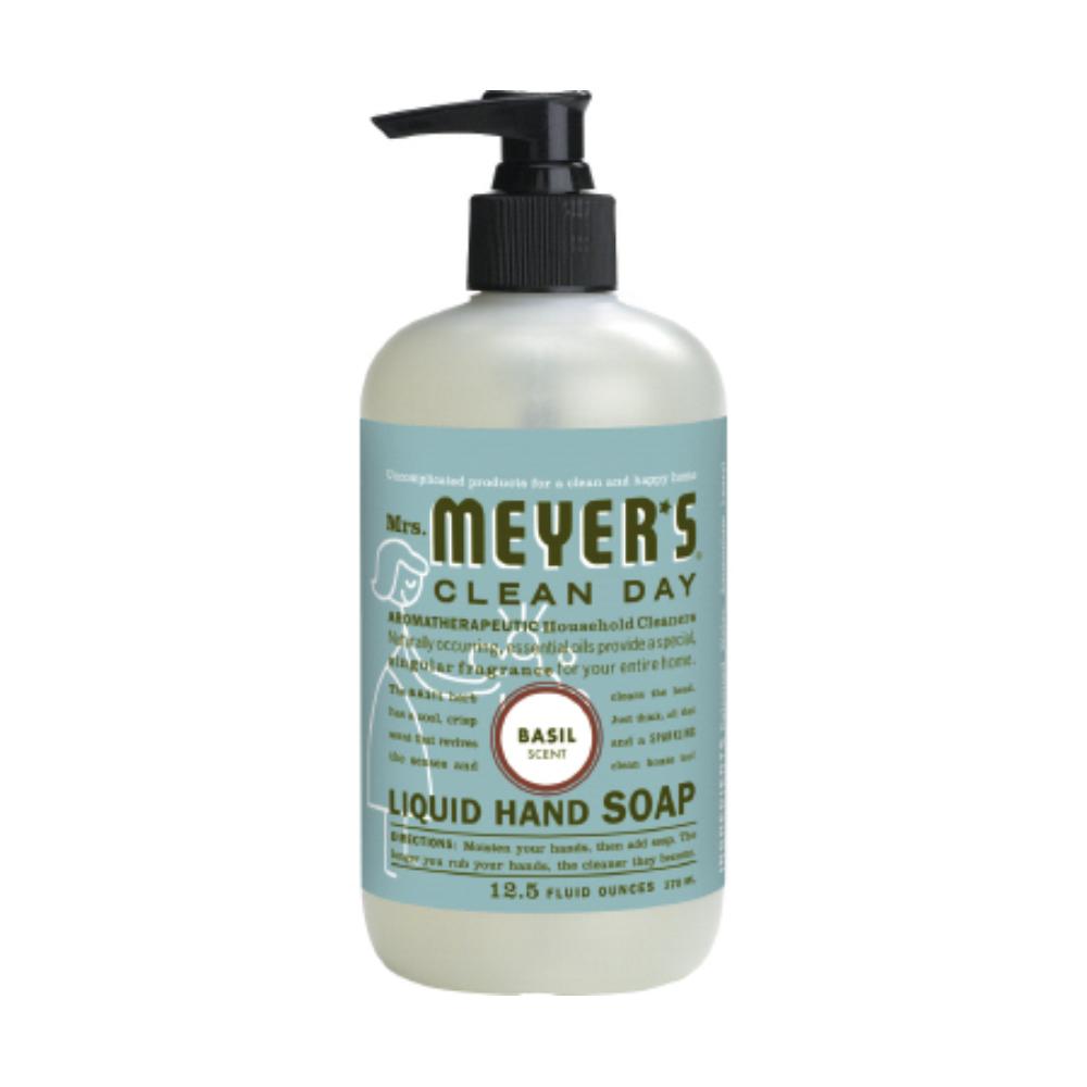 Caldrea 12.5 oz Basil Clean Day Liquid Hand Soap