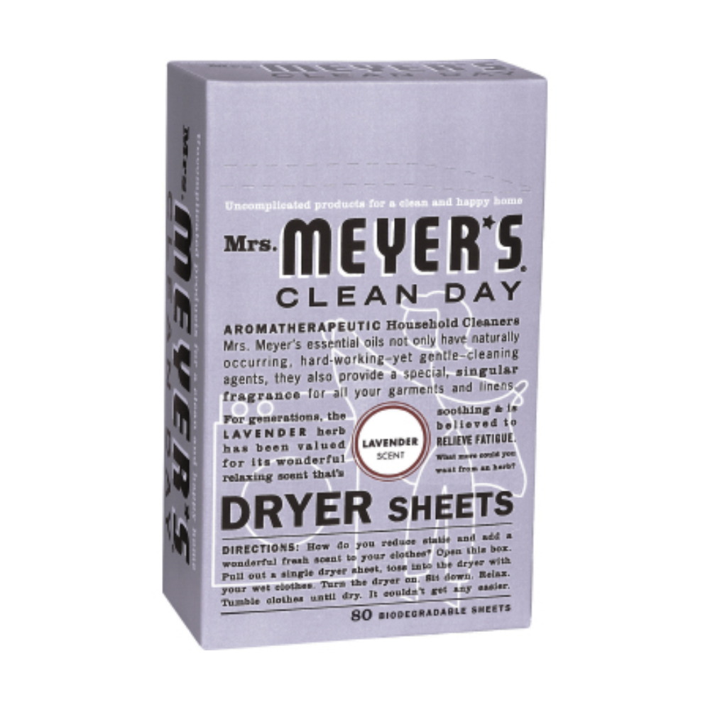 Caldrea 80 Count Lavander Clean Day Dryer Sheets