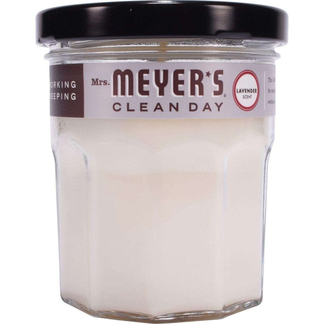SC Johnson 4.9 oz Lavander Clean Day Glass Candle