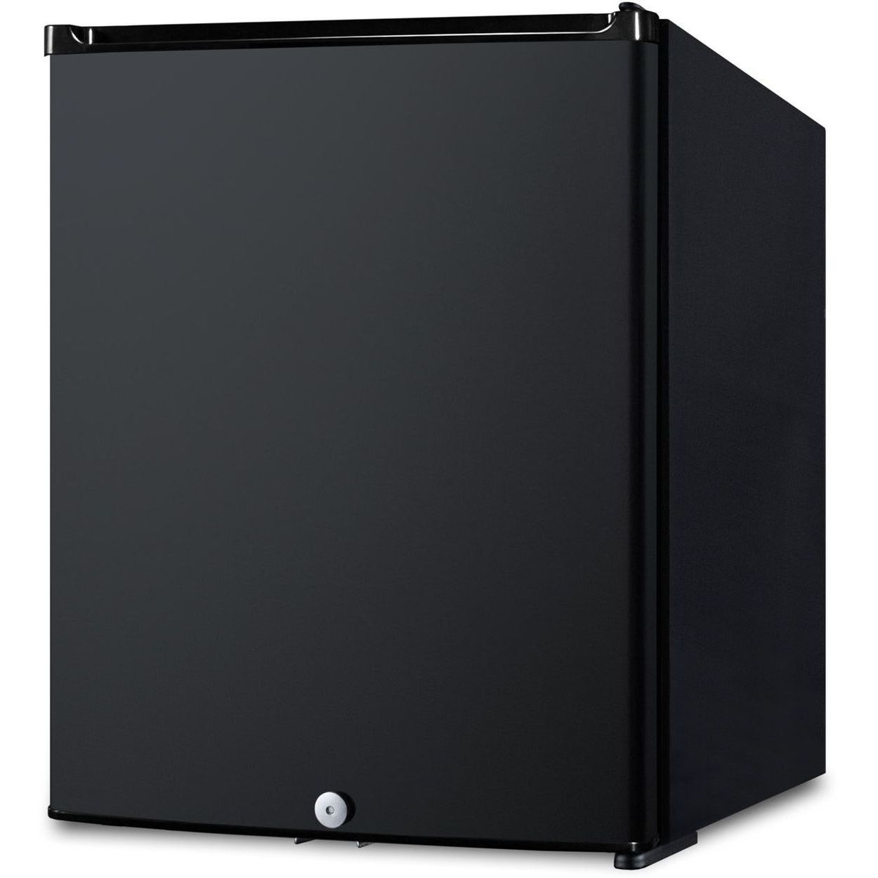 Summit MB12B 0.7 Cu Ft Black Compact Minibar - Black Door