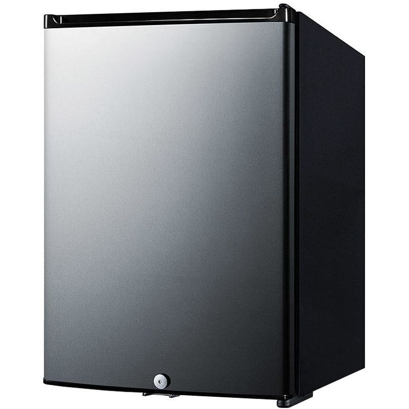 Summit MB26SS 1.1 Cu Ft Black Compact Minibar - Stainless Steel Door