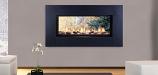 """Monessen 42"""" Artisan Vent Free See-Through SSC Linear Fireplace - LP"""