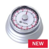 CDN MT4-S Compact Mechanical Timer - Silver