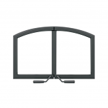 Napoleon H336H-WI Arched Wrought Iron Double Doors