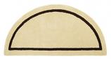 Half Round Rug Mesa Tan By Minuteman