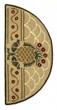 Hospitality Rug - Half Round By Minuteman