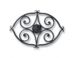 Wrought Iron Trivet - Scroll By Minuteman