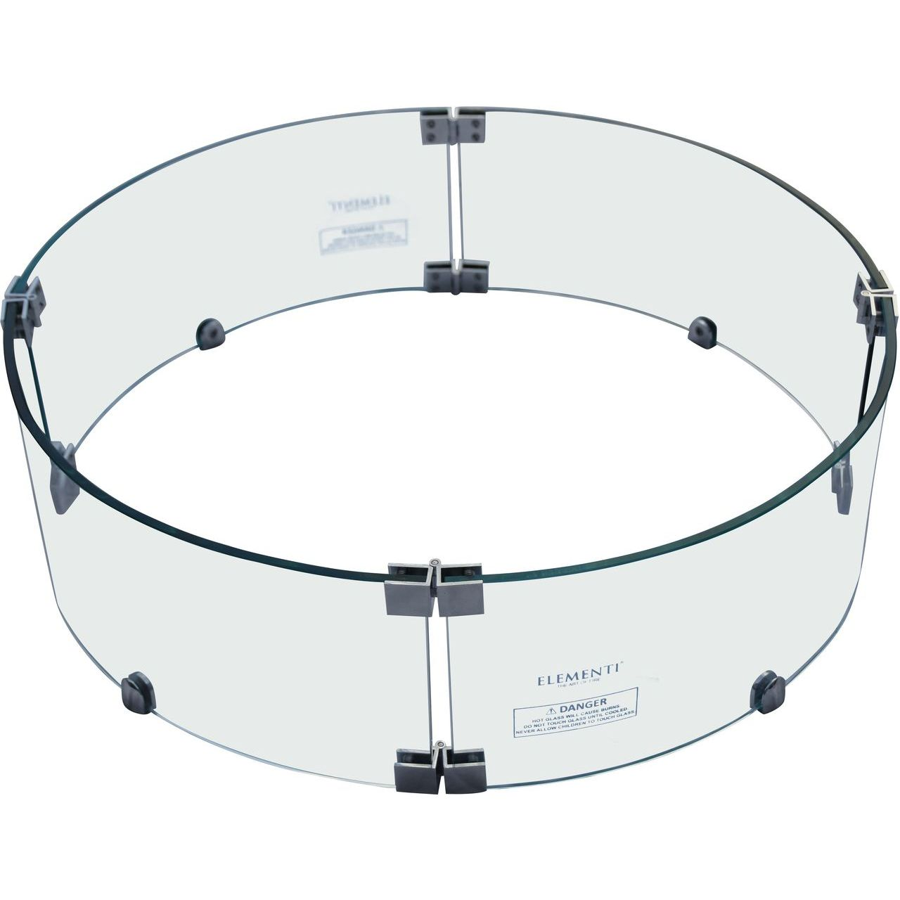Elementi OFG110-WS Round Wind Shields For Boulder Fire Table