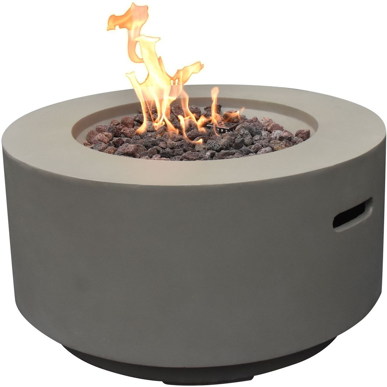 Modeno OFG152LG-LP Waterford Fire Table in Light  Gray - Propane