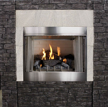 """Empire Outdoor Traditional 36"""" Premium Fireplace OP36FP32MN - NG"""
