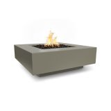 The Outdoor Plus 56'' Cabo Linear Match Lit Fire Pit in Black - NG