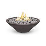 60'' Cazo Match Lit Fire Pit in Chestnut - LP (Narrow Lip)