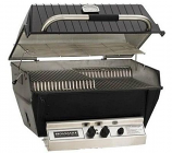 Broilmaster Premium P4-X Natural Gas Grill Head with Stainless Steel Burner & Aluminum Lid