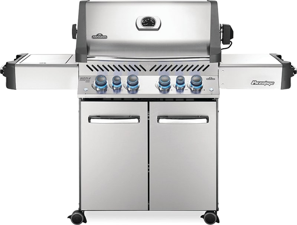 Napoleon Prestige 500 RSIB Stainless Steel Gas Grill - NG