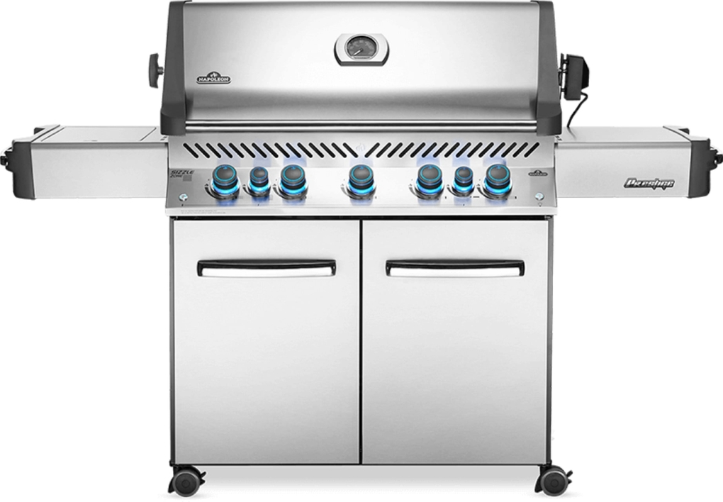 Napoleon Prestige 665 RSIB Stainless Steel Gas Grill - NG