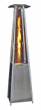 Square Design Portable Propane Patio Heater-Stainless Steel