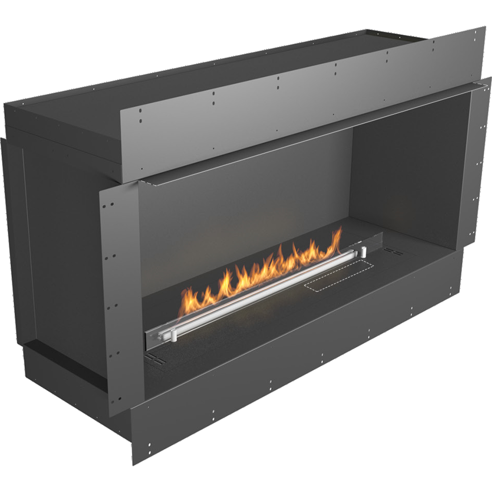 Planika  indoor Prime Fire Box With Prime Fire Automatic Ethanol Burner