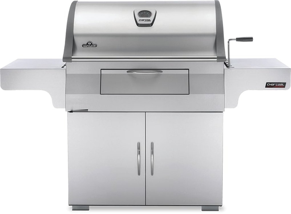 Napoleon Stainless Steel Charcoal Professional Grill