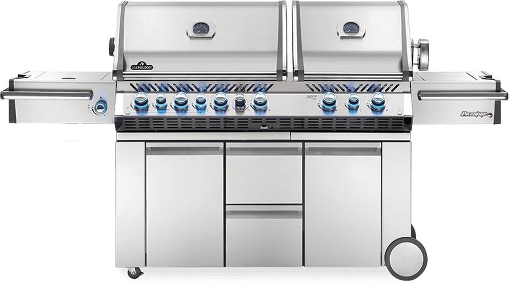Napoleon Prestige Pro 825 RSBI Stainless Steel Gas Grill - LP