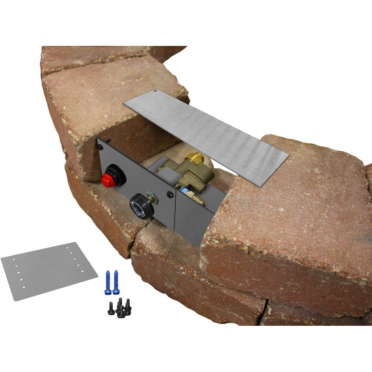 Firegear PAVER-CP-TMSI Block & Paver Control Panel For TMSI Burner