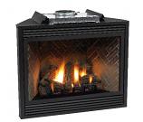"Premium 36"" Direct-Vent NG Millivolt Control Fireplace"