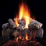 "24"" Prestige Highland Oak Logs w/Convertible Safety Pilot Burner - LP"