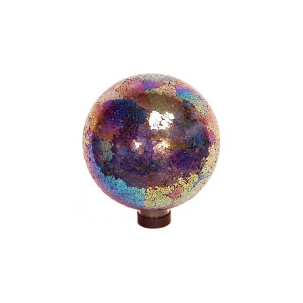 "RSR Industries 10"" Dia Arcoiris Mosaic Gazing Globe"