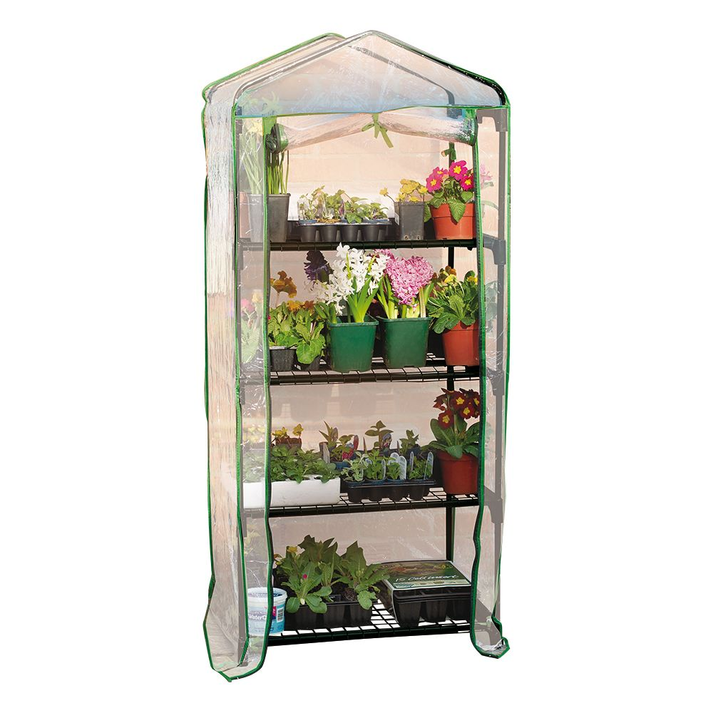 World Source 4-Tier Mini Greenhouse