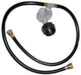 21Century R46 LP Gas Regulator with Two Hoses