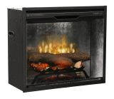 Dimplex Revillusion 24'' Built-In Firebox - Weathered Grey Interior