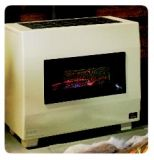 Empire Visual Flame 65K BTU Room Heater with Blower - NG